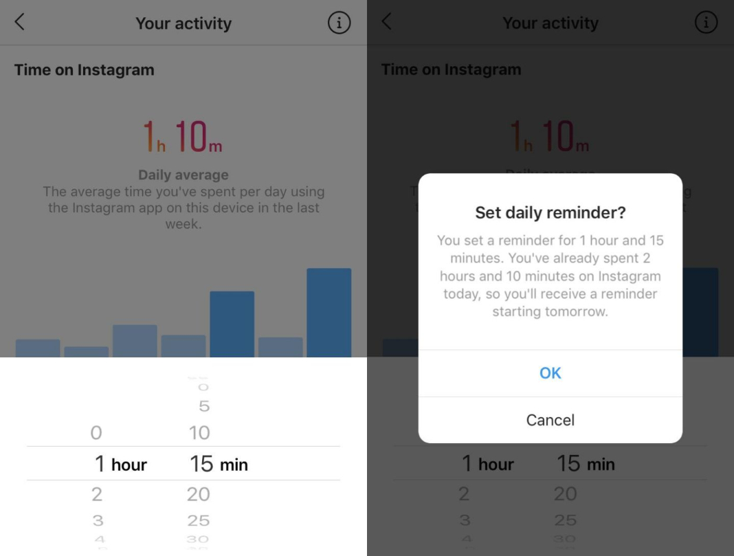 instagram tiempo 3 [Updated] Instagram and Facebook let you know how much time you spend using each app