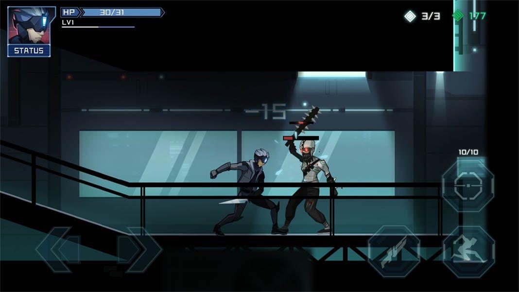 into mirror screenshot Los mejores juegos gratuitos con estética cyberpunk para Android