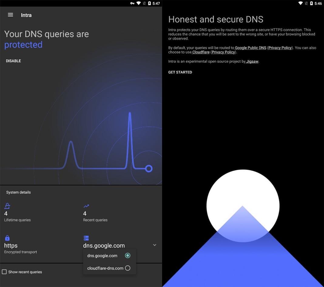 intra screenshots Las diez mejores apps para Android del mes [mayo 2018]