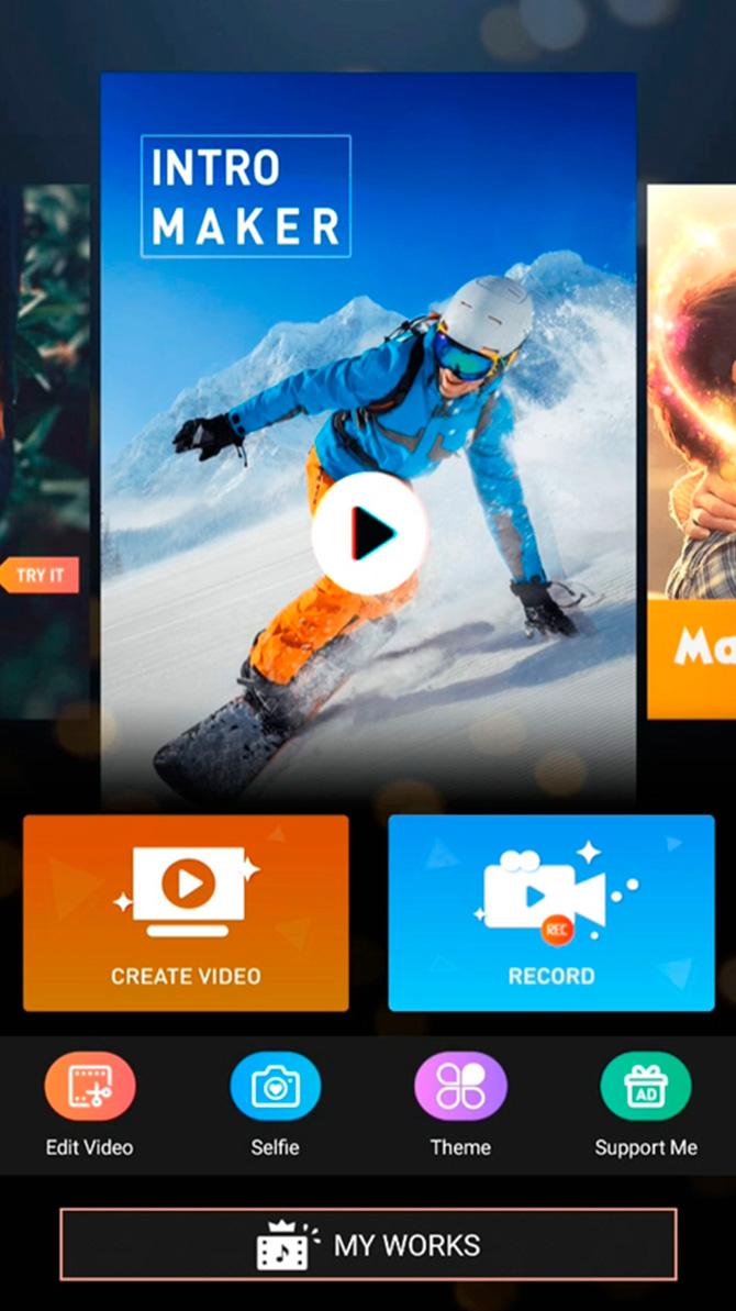 Intro Maker app
