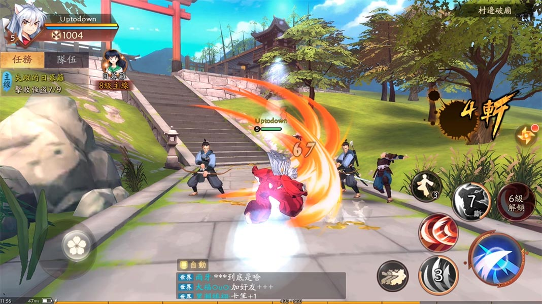 inuyasha screenshot The top 10 Android games of the month [May 2019]