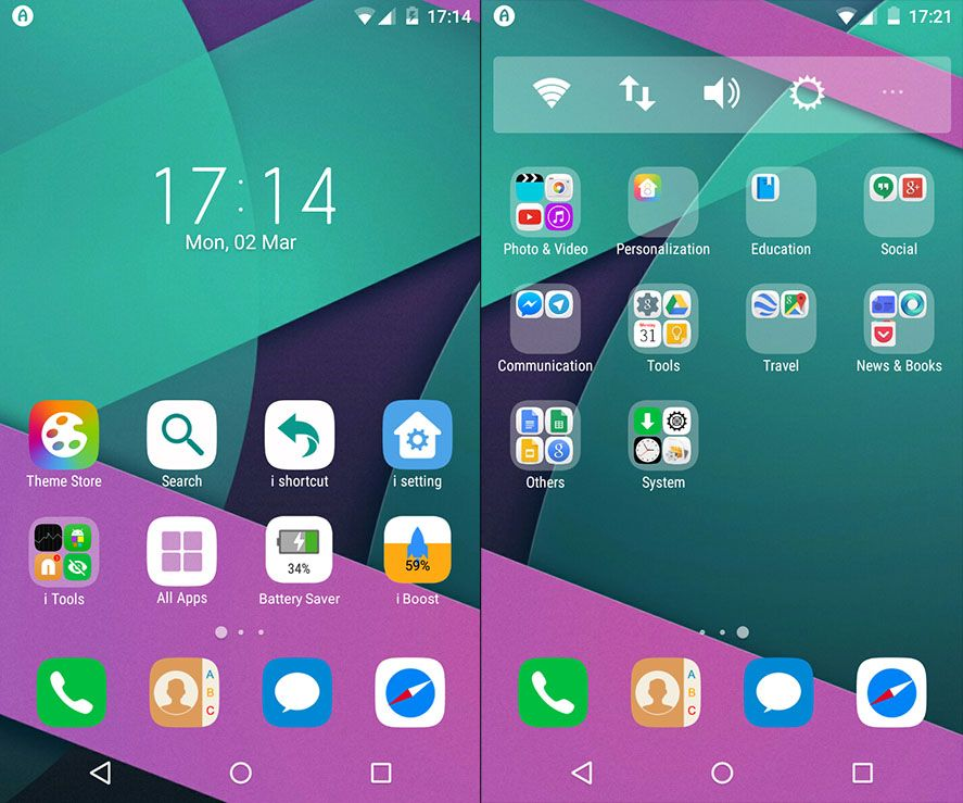 How to turn your Android into an iPhone