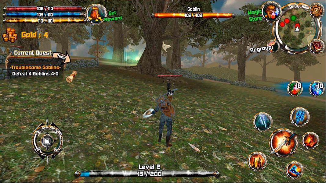 Kingdom Quest: Crimson Warden