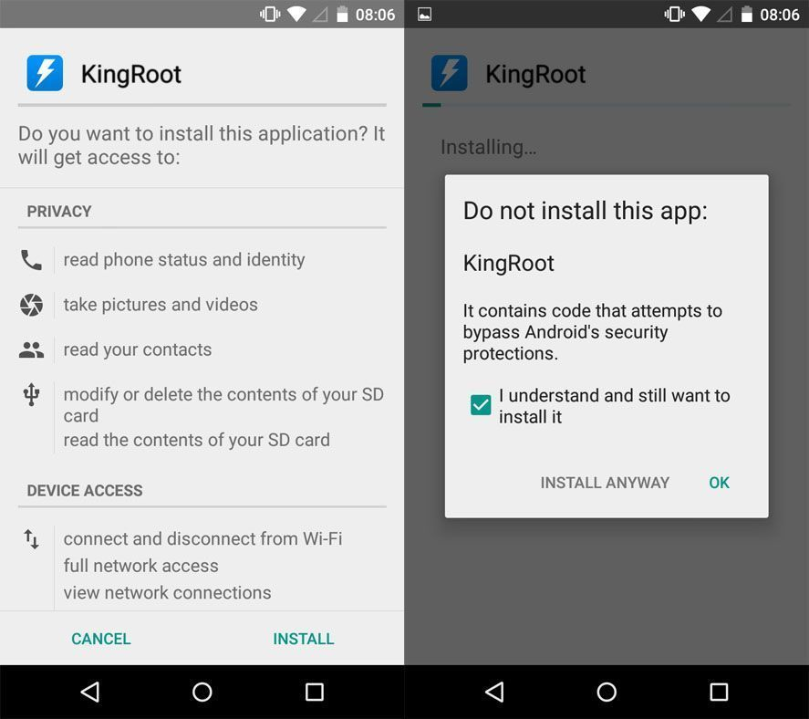 Root your Android in seconds with KingRoot