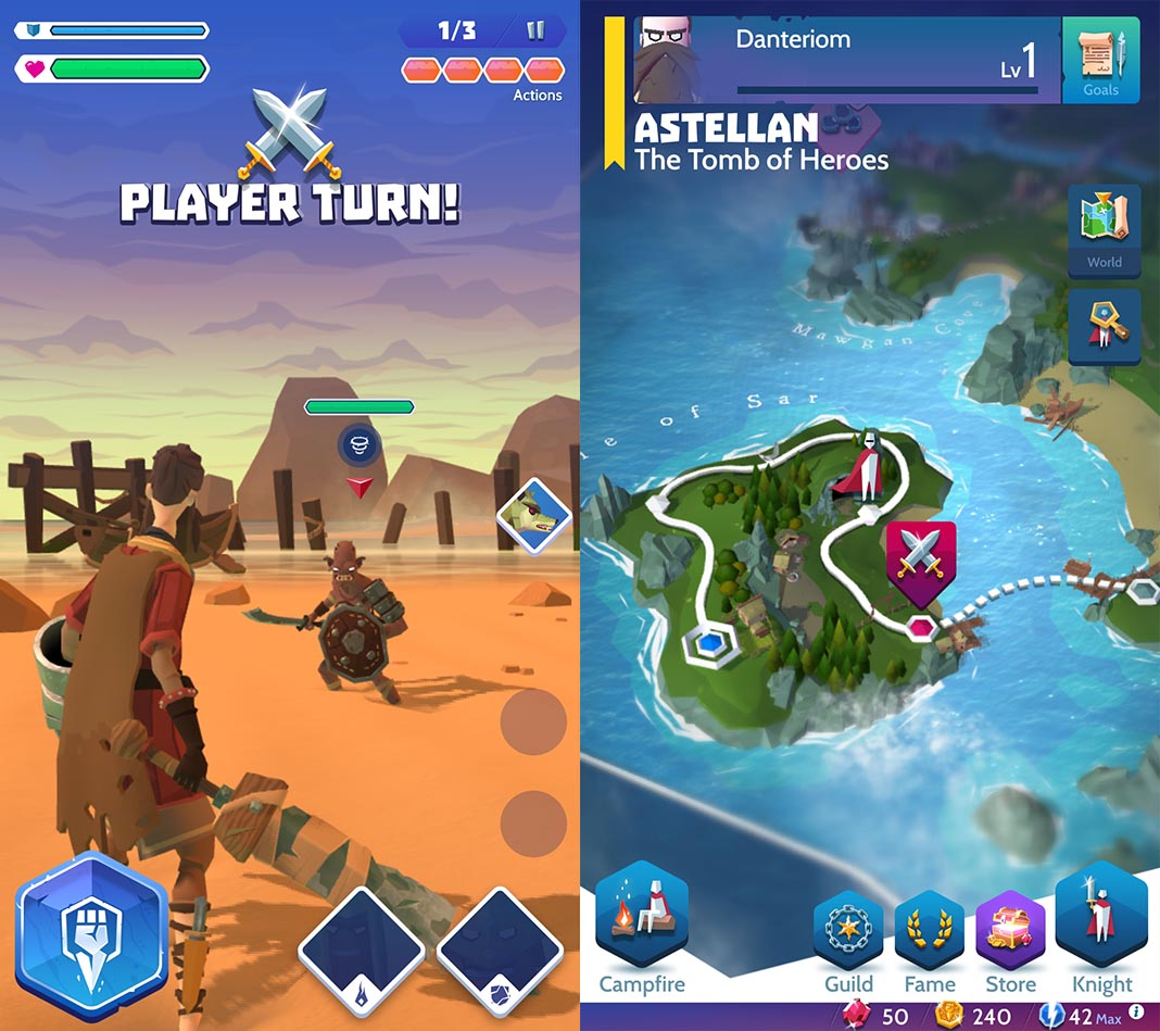 knights of fury screenshot 2 Knights of Fury is the latest game from King, but it's not what you'd expect