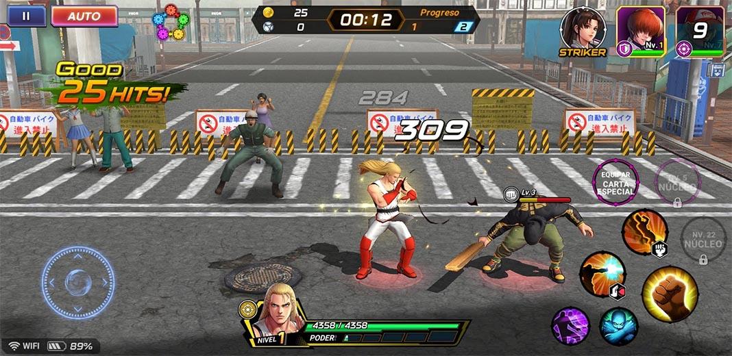 kof all stars es 1 Ya puedes jugar a la versión global de The King of Fighters AllStar