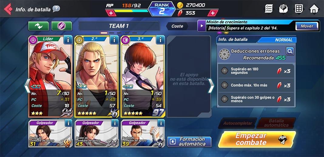 kof all stars es 2 Ya puedes jugar a la versión global de The King of Fighters AllStar