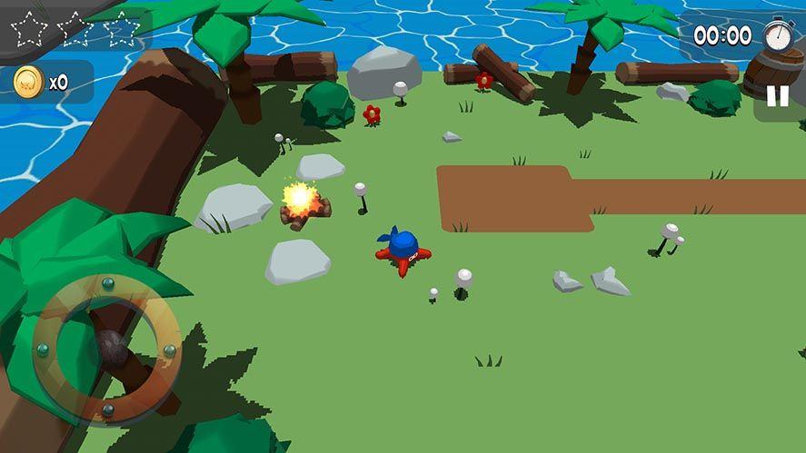kraken land screenshot 1 Kraken Land, one of the best 3D platformers for Android