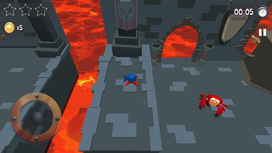 kraken land screenshot 2 Kraken Land, uno de los mejores plataformas 3D para Android