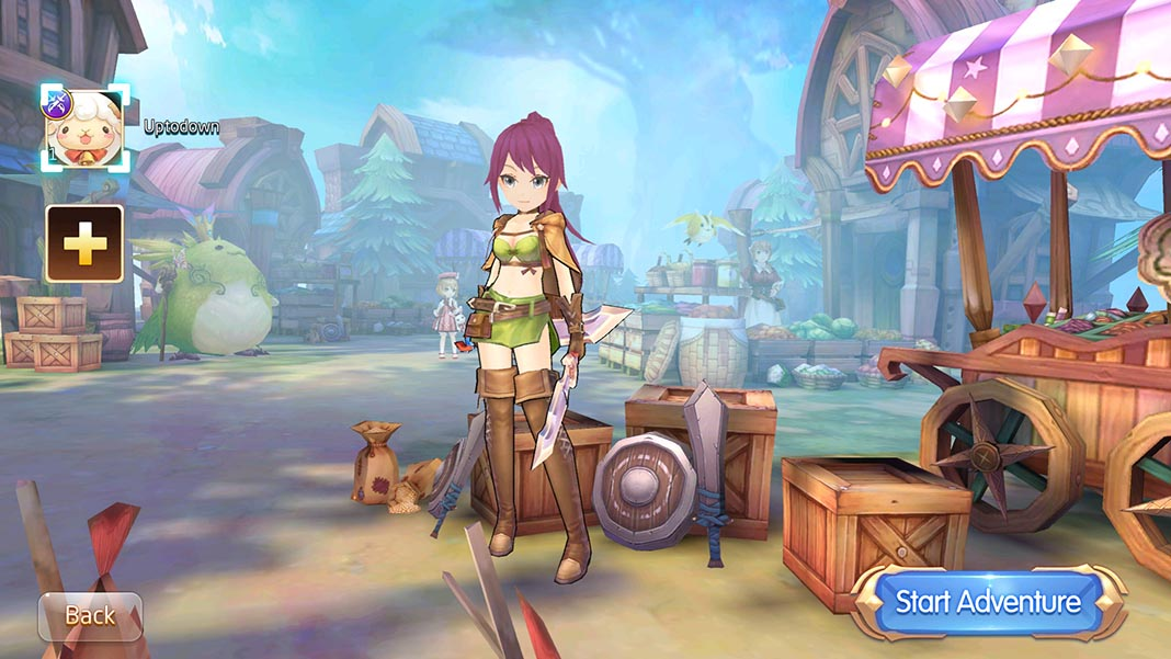 laplace m screen 2 Tales of Wind, the new MMORPG with the spirit of Ragnarok M