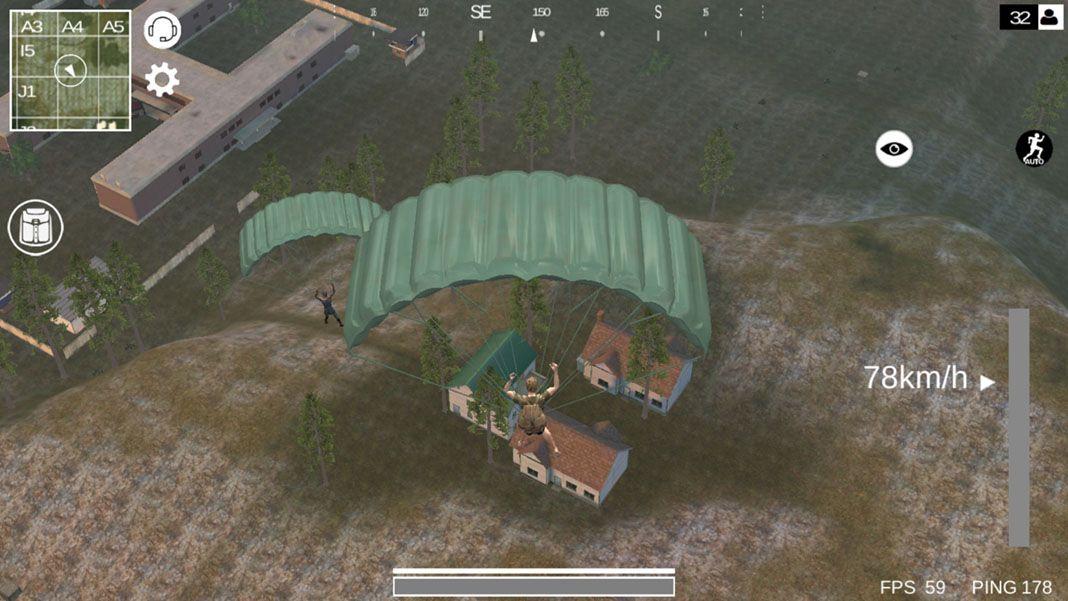last battleground survival screenshot 1 Last Battleground: Survival es el mejor clon de PUBG para Android