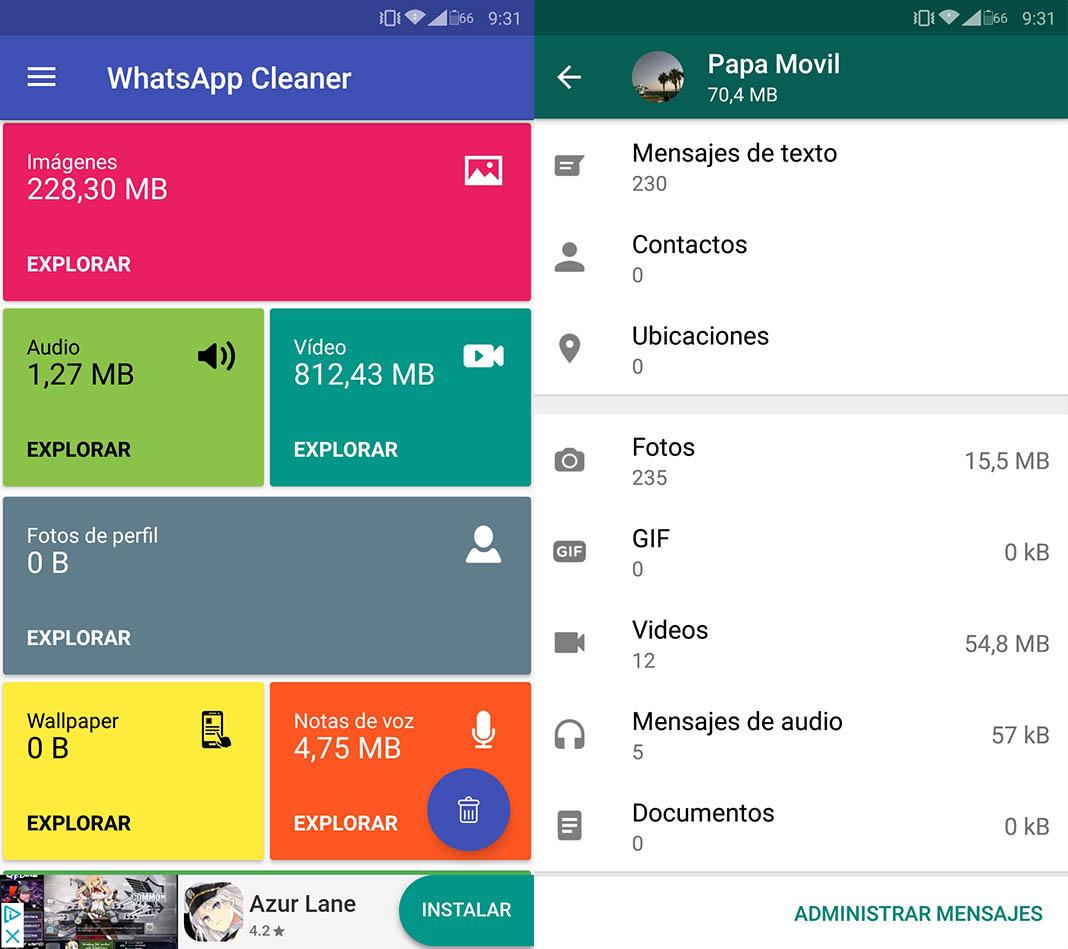 liberar espacio whatsapp 10 consejos para liberar espacio en nuestro dispositivo Android