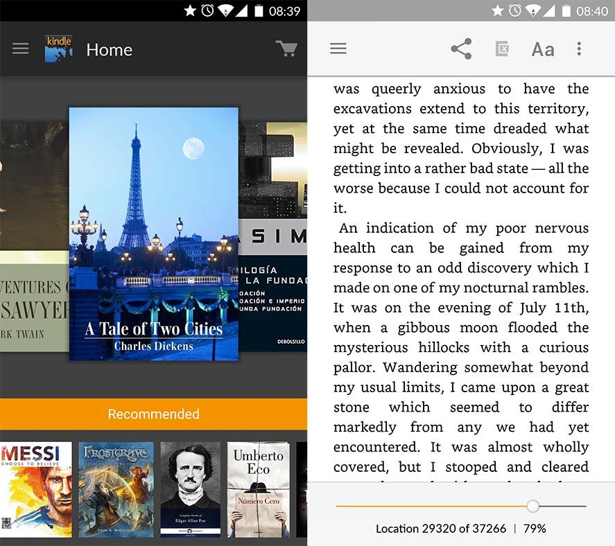 Top apps for reading eBooks on Android