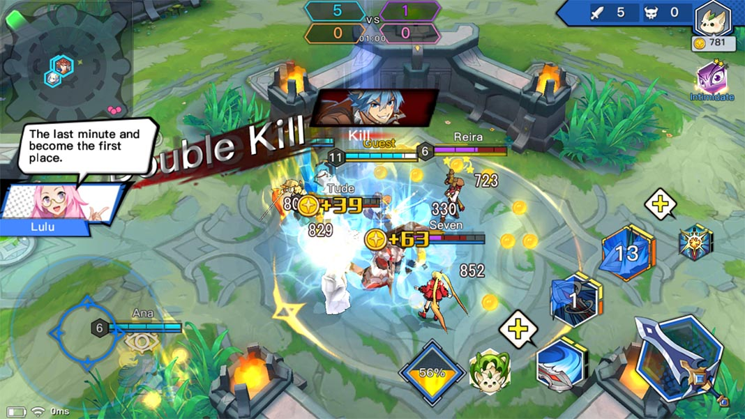 light x shadow screenshot moba The most played MOBAs on Android