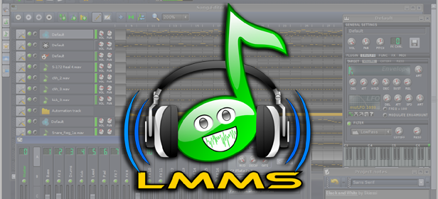 LMMS: Record and edit your music to the level of a