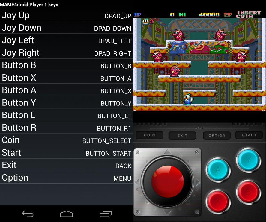 mame4droid tutorial 3 MAME cumple 20 años: convierte tu Android en una máquina arcade