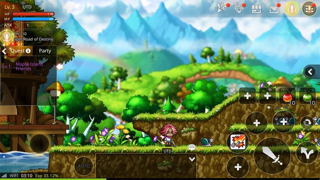 maplestory m streenshot 2 El MMORPG Maplestory llega a dispositivos Android