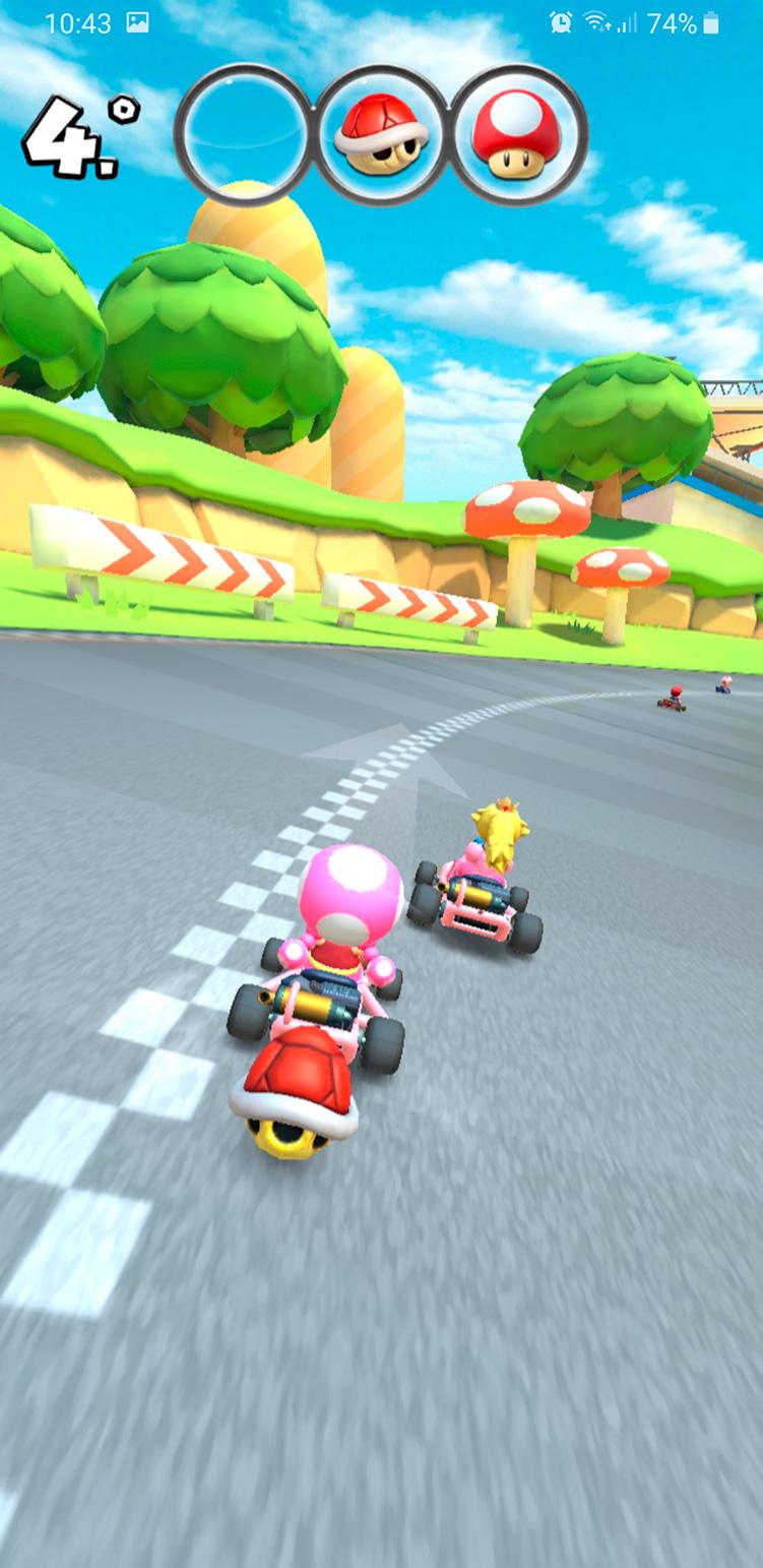 mario kart tour screen Mario Kart Tour ya está disponible en Android