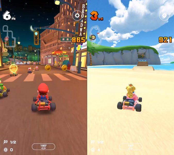 mario kart tour screenshot 1 Mario Kart Tour llega el 25 de septiembre a dispositivos móviles