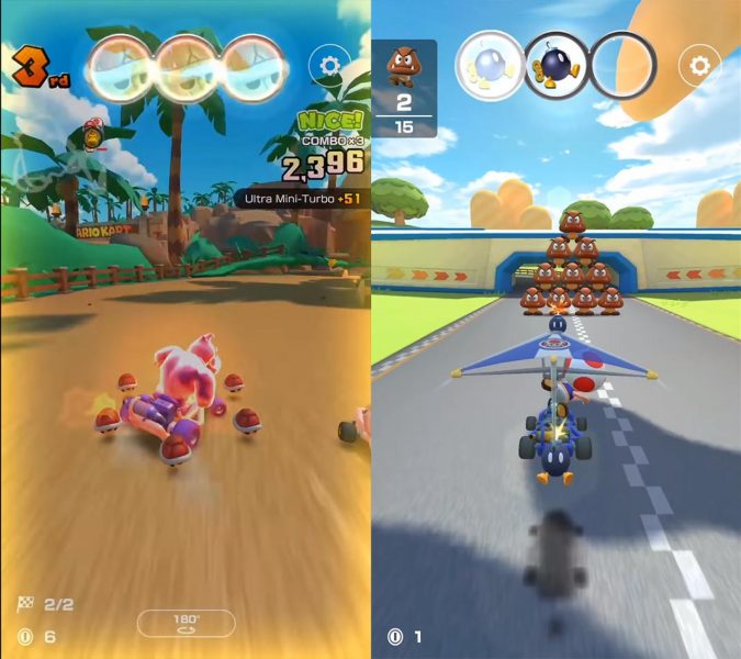 mario kart tour screenshot 2 Mario Kart Tour llega el 25 de septiembre a dispositivos móviles