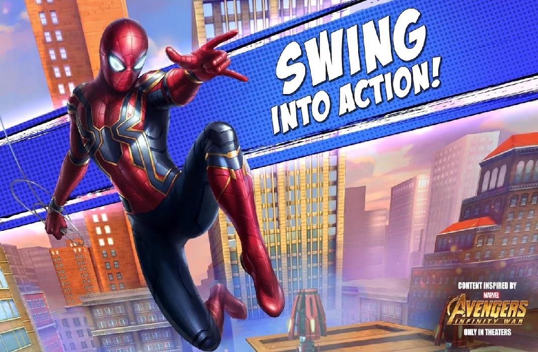 marvel spiderman unlimited screenshot Thanos llega a Android: Los juegos de Marvel se actualizan por Infinity War