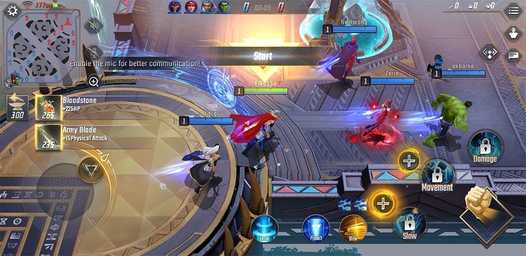 marvel super star screenshot 1 Comienza la beta de Marvel Super War, el nuevo MOBA de NetEase