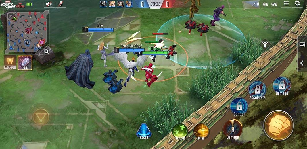 marvel super war 1 Ya disponible la nueva beta cerrada de Marvel Super War