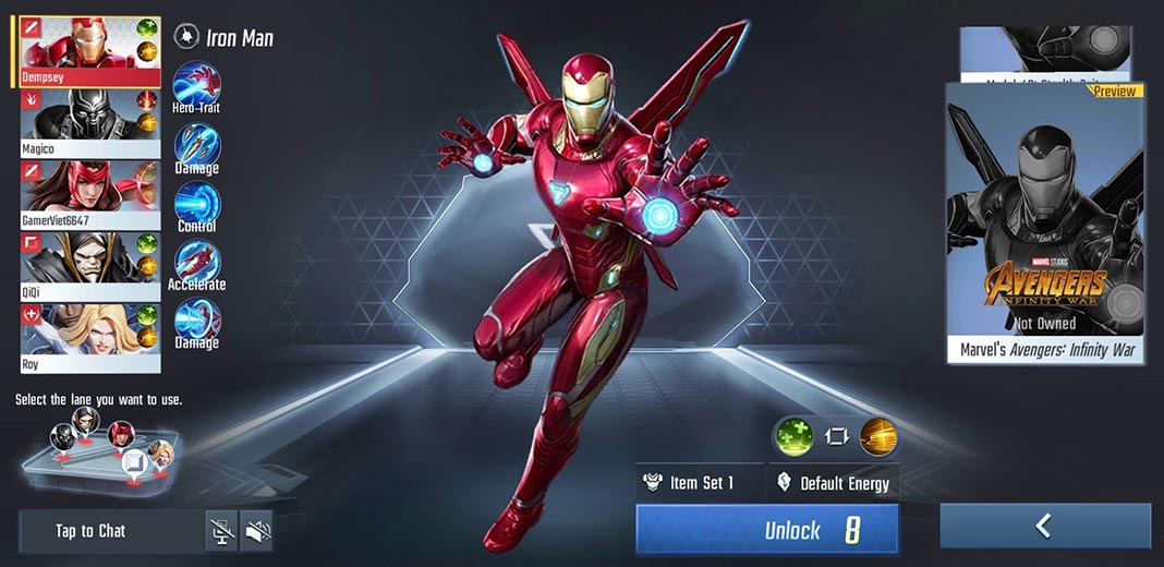 marvel super war 2 Ya disponible la nueva beta cerrada de Marvel Super War