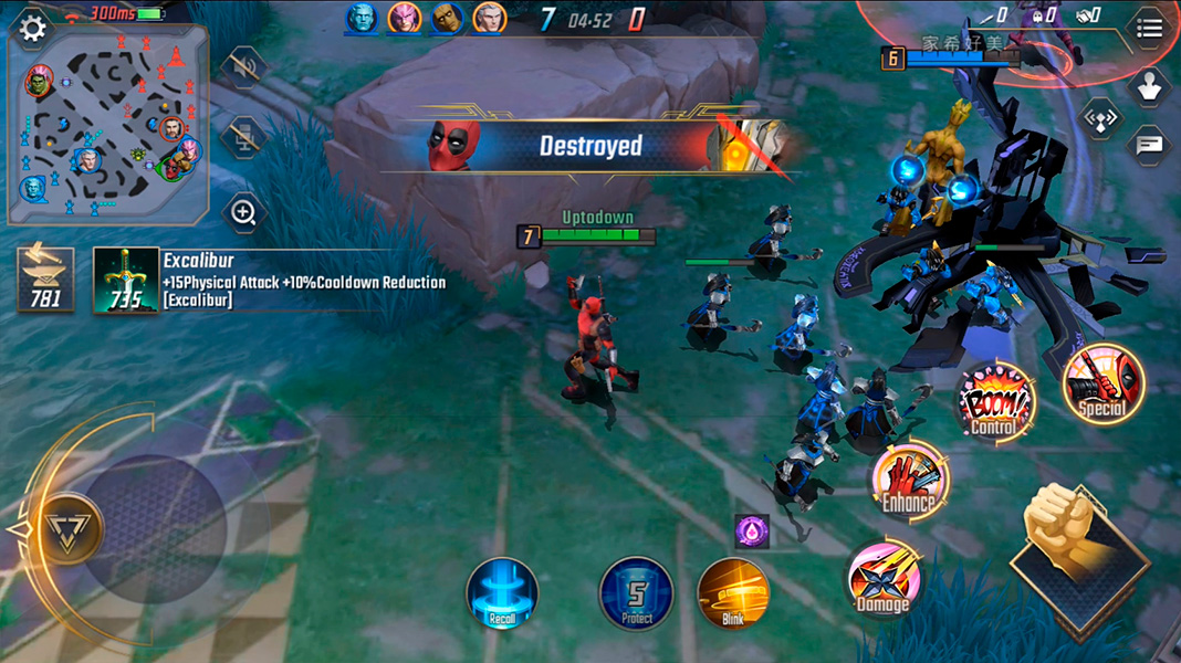 marvel super war deadpool The best Android games released in the first half of 2020