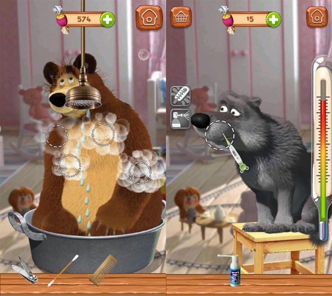 Masha y el oso Android