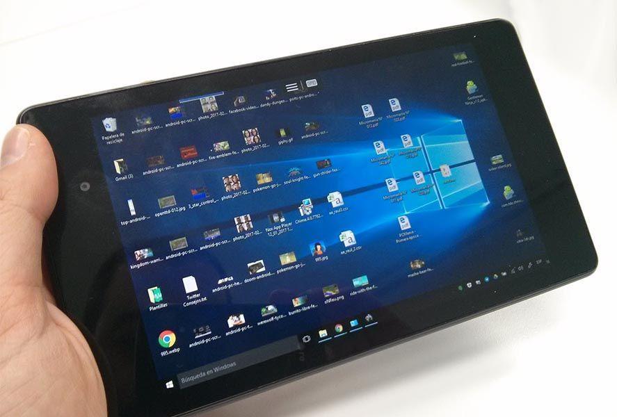 Escritorio remoto Windows 10 Android