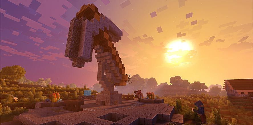 minecraft unifying screenshot [E3 2017] Minecraft players on Android soon to be able to play with PC gamers