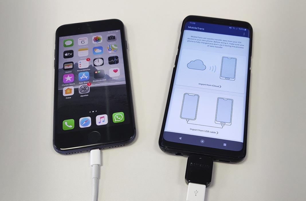 mobiletrans 2 Migra fácilmente de iOS a Android con Wondershare MobileTrans