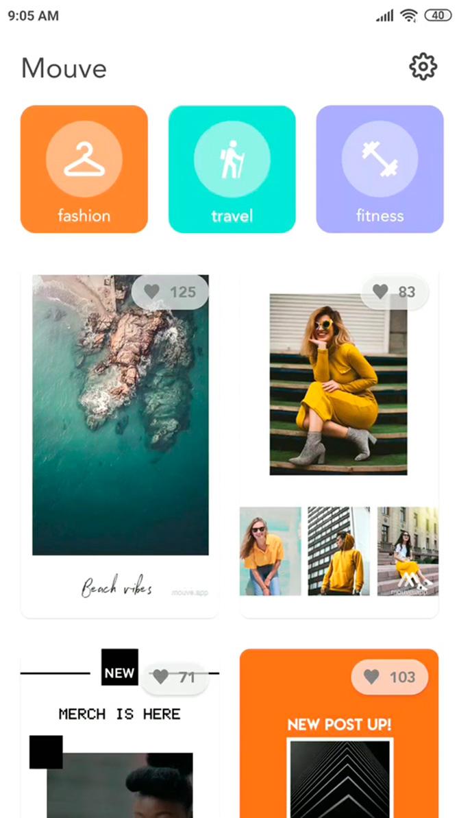 Mouve app