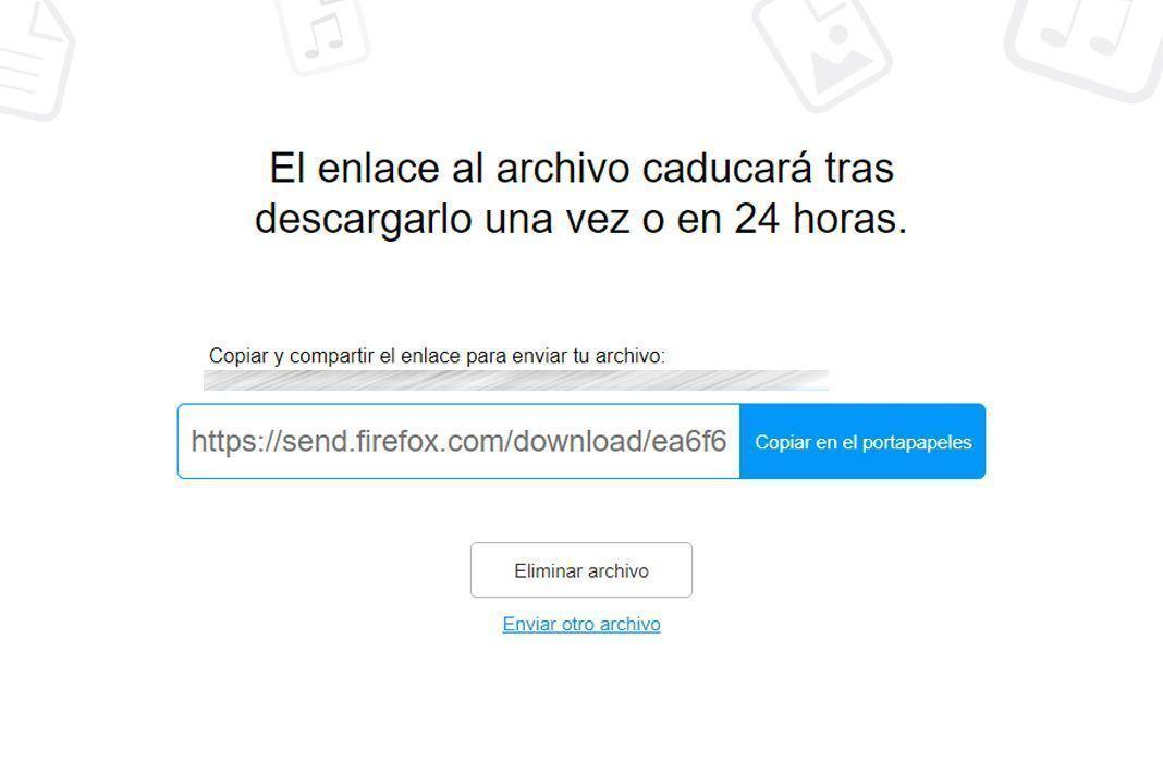 Mozilla Firefox Send