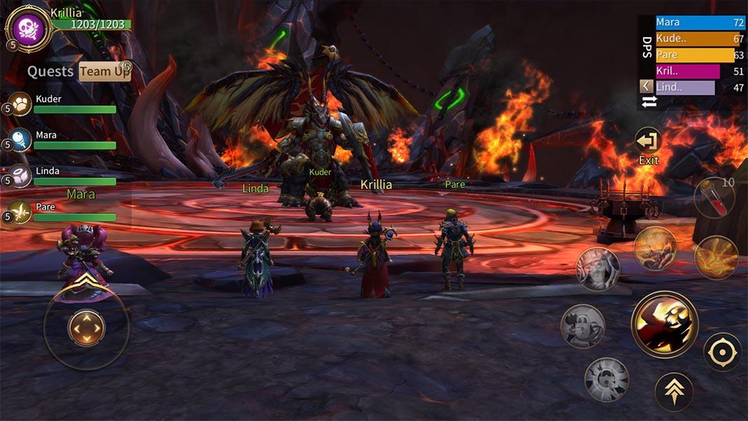 mt4 screenshot 3 Ya disponible Era of Legends: La parodia que se convirtió en clon de World of Warcraft