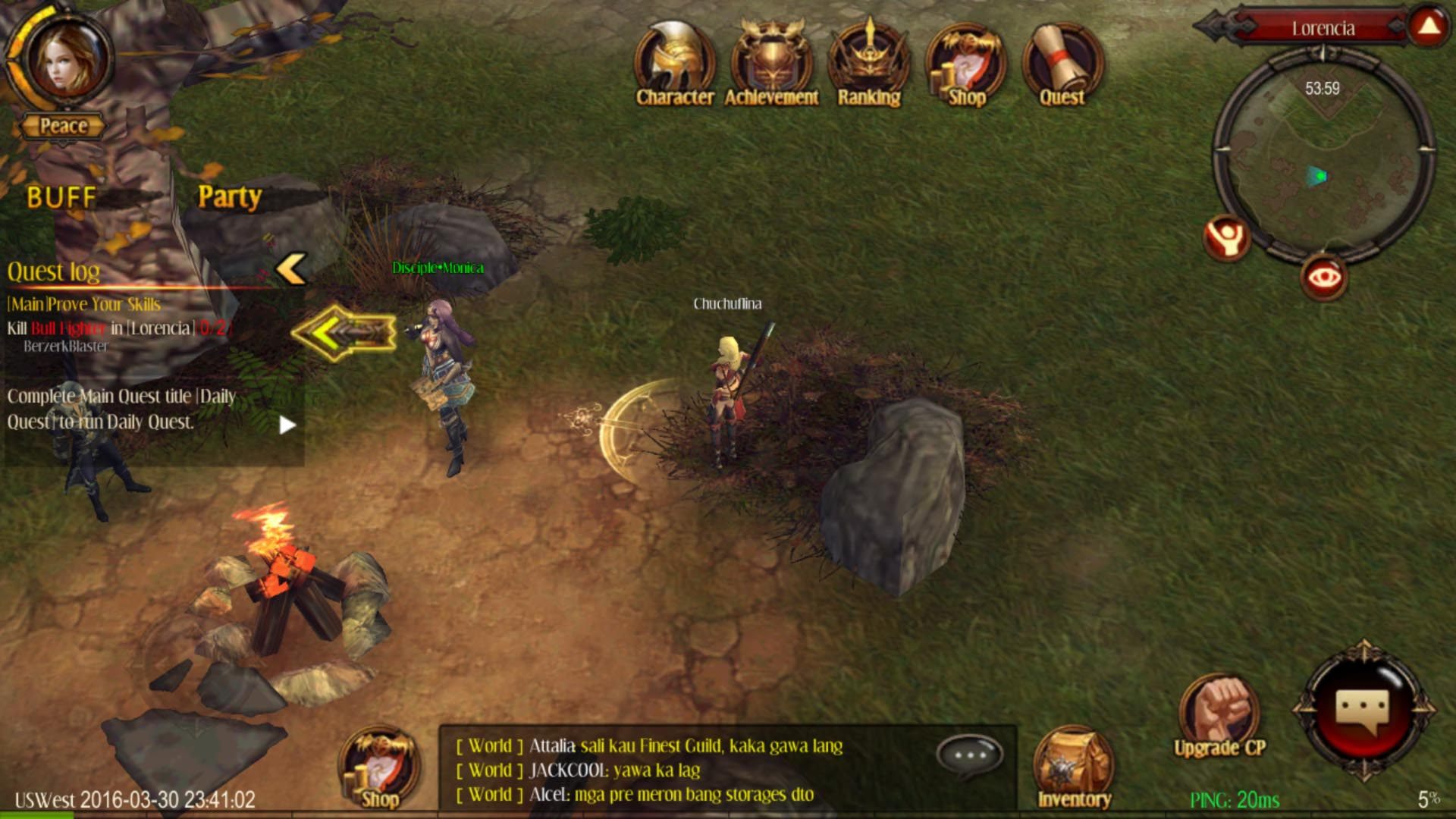 MU Origin MMORPG out now on Android