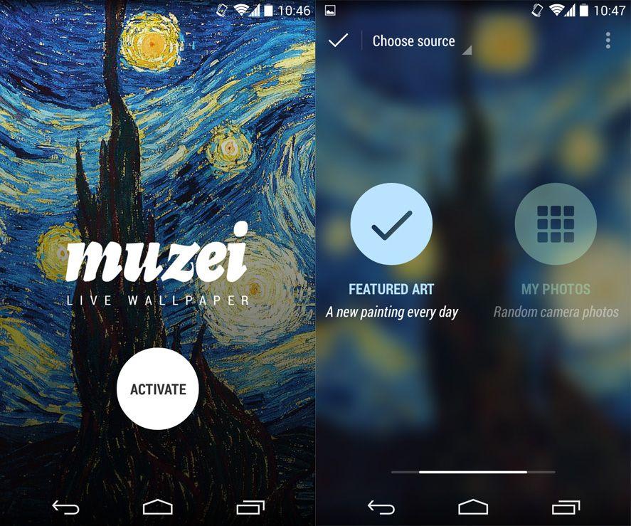 muzei change