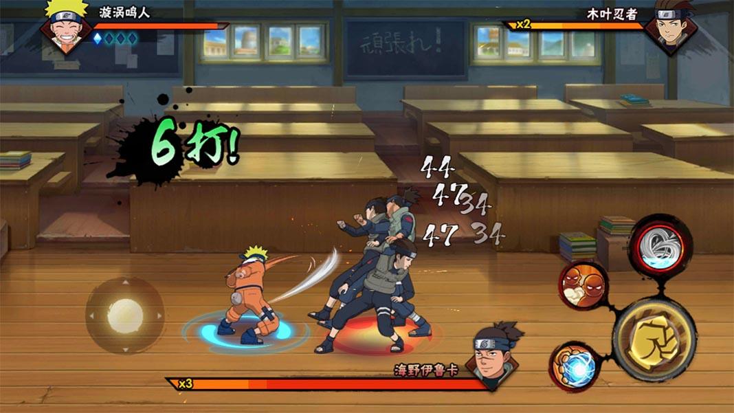 naruto mobile screenshot Los mejores juegos para Android basados en Anime