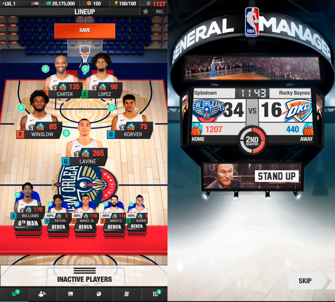 NBA General Manager