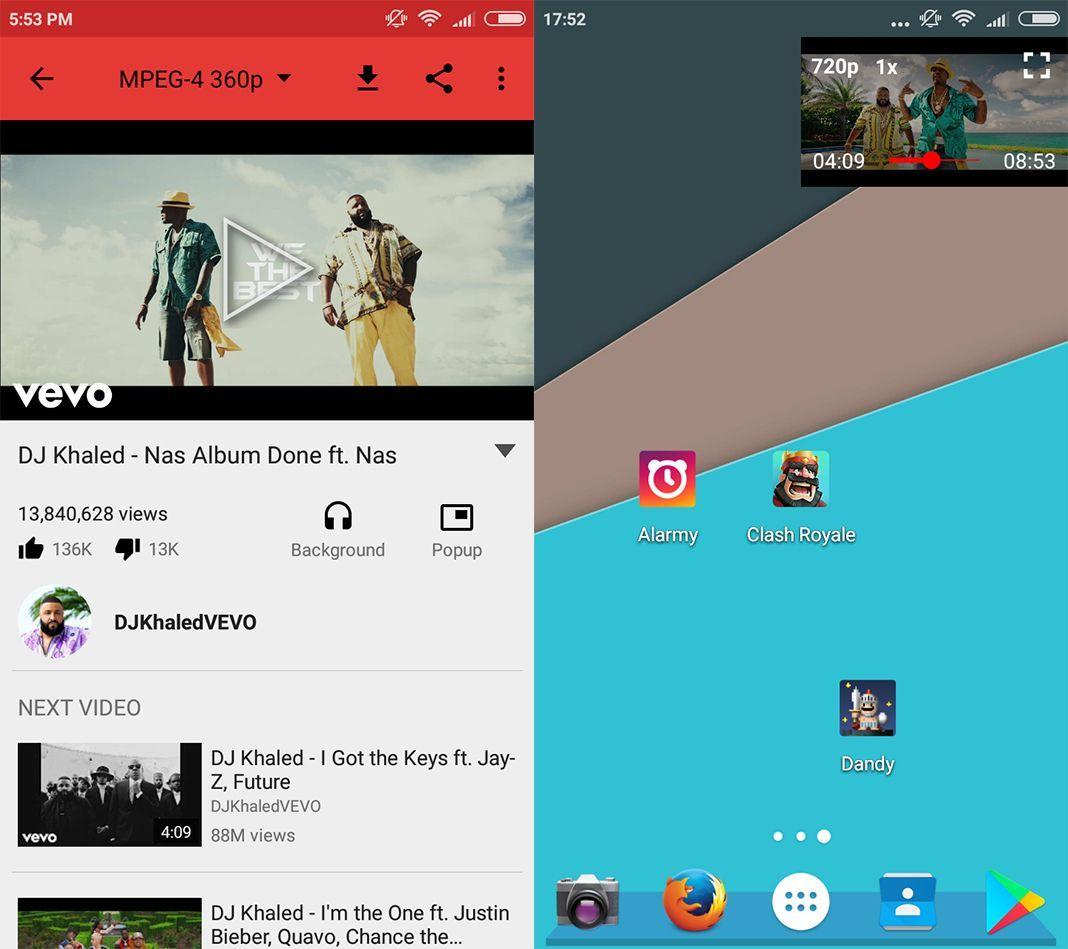 newpipe screenshot Cómo escuchar música de YouTube en segundo plano de forma gratuita