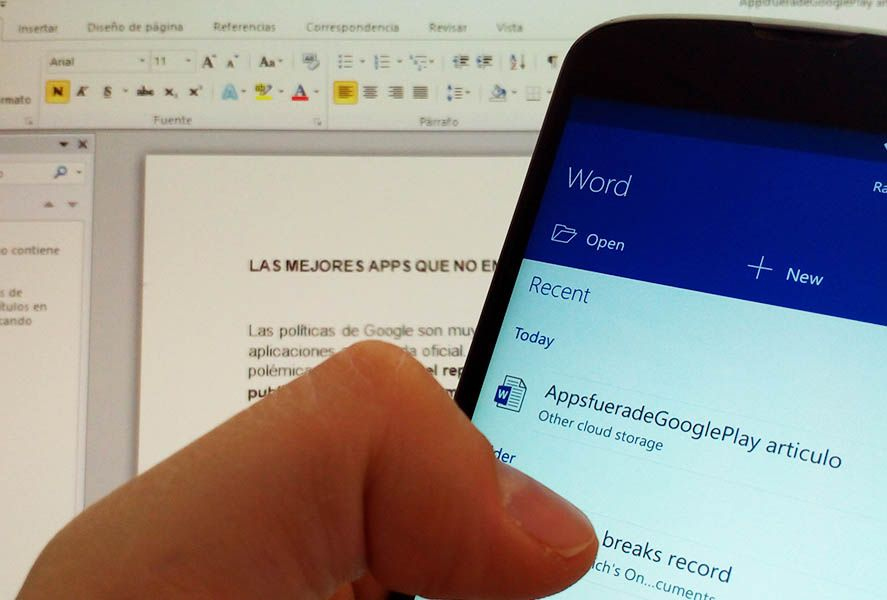 office android 0 Microsoft's top apps for Android
