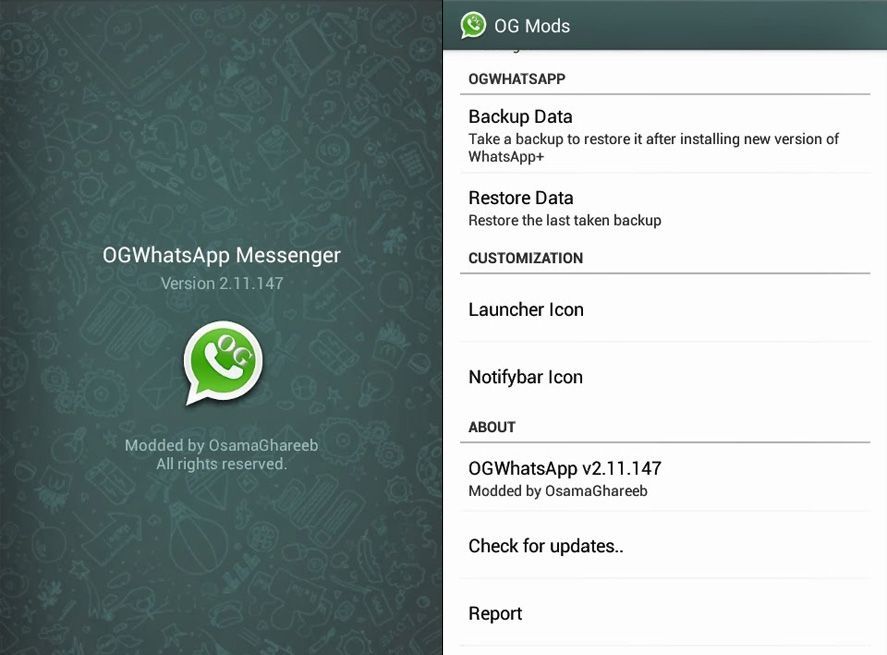 WhatsApp bans all third-party mods