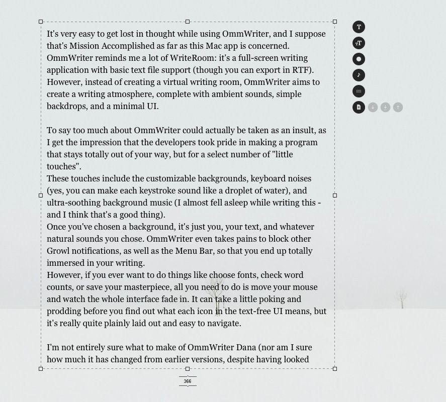 ommwriter-screenshot