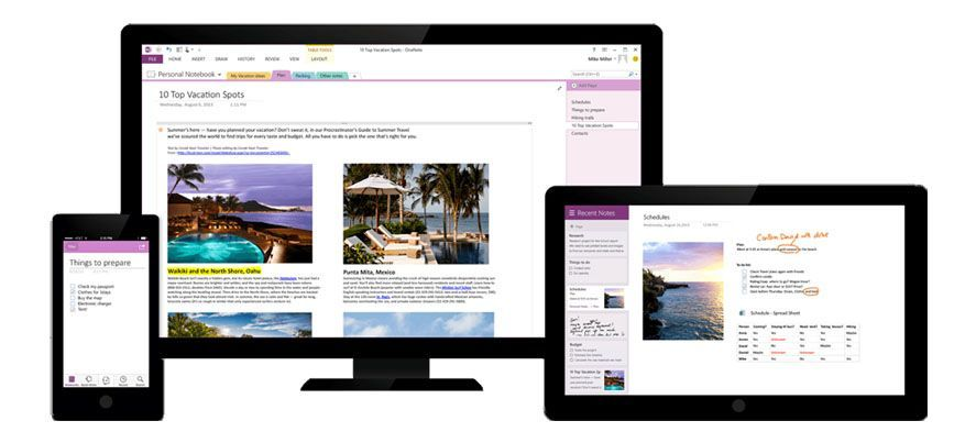 how to keep logging in onenote
