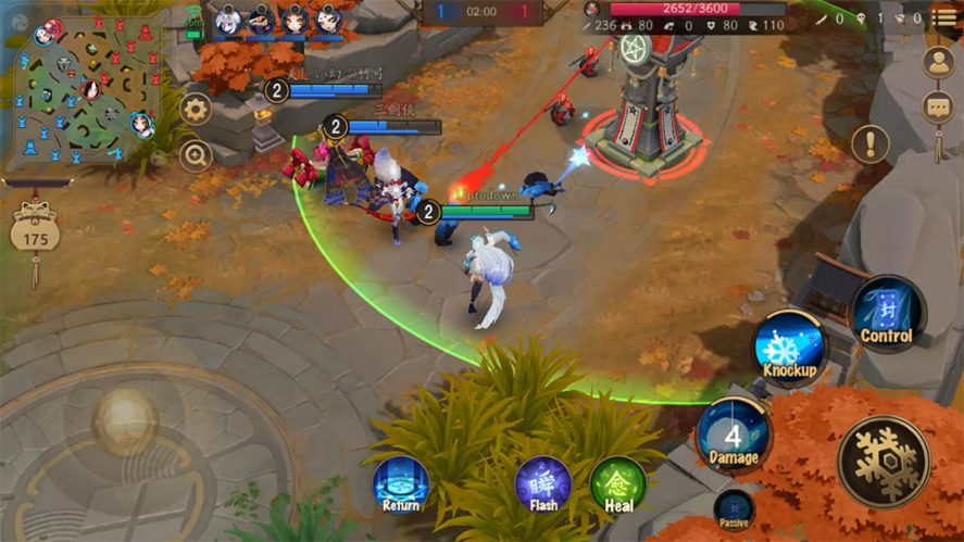 onmyoji arena The most played MOBAs on Android