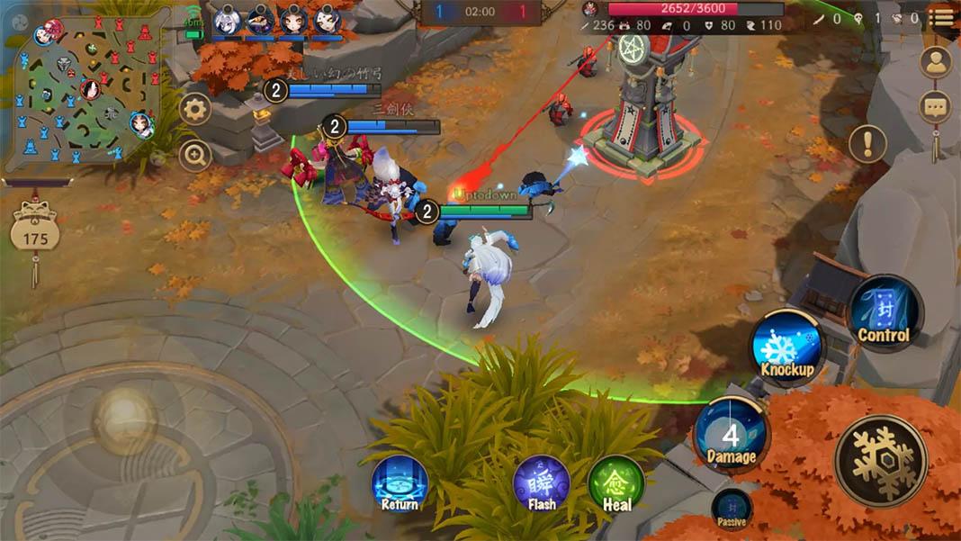 onmyoji arena Los MOBA más jugados en Android