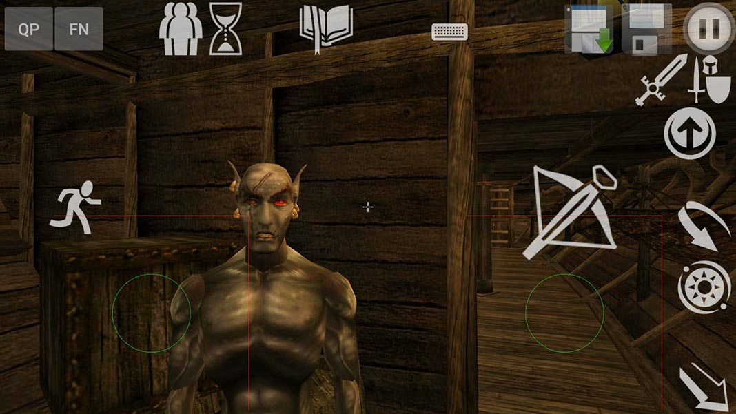 openmw screenshot 1 How to play the legendary RPG Morrowind on Android