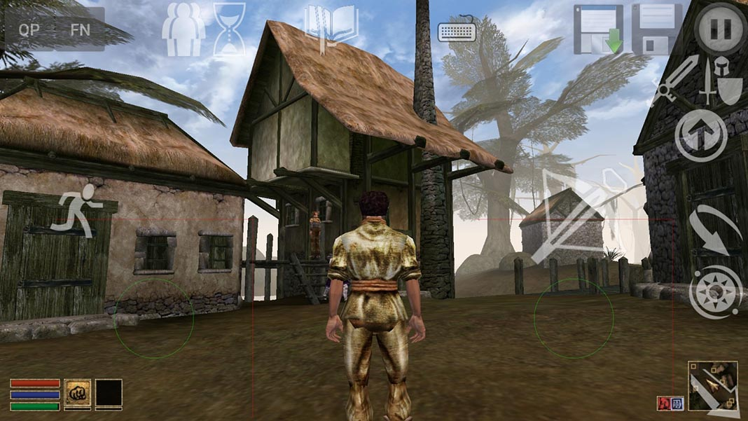 openmw screenshot 2 How to play the legendary RPG Morrowind on Android