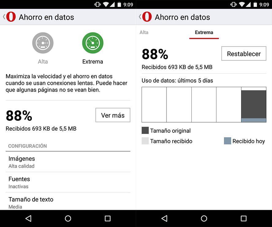 opera mini 1 Las mejores apps Lite para ahorrar espacio en tu dispositivo Android